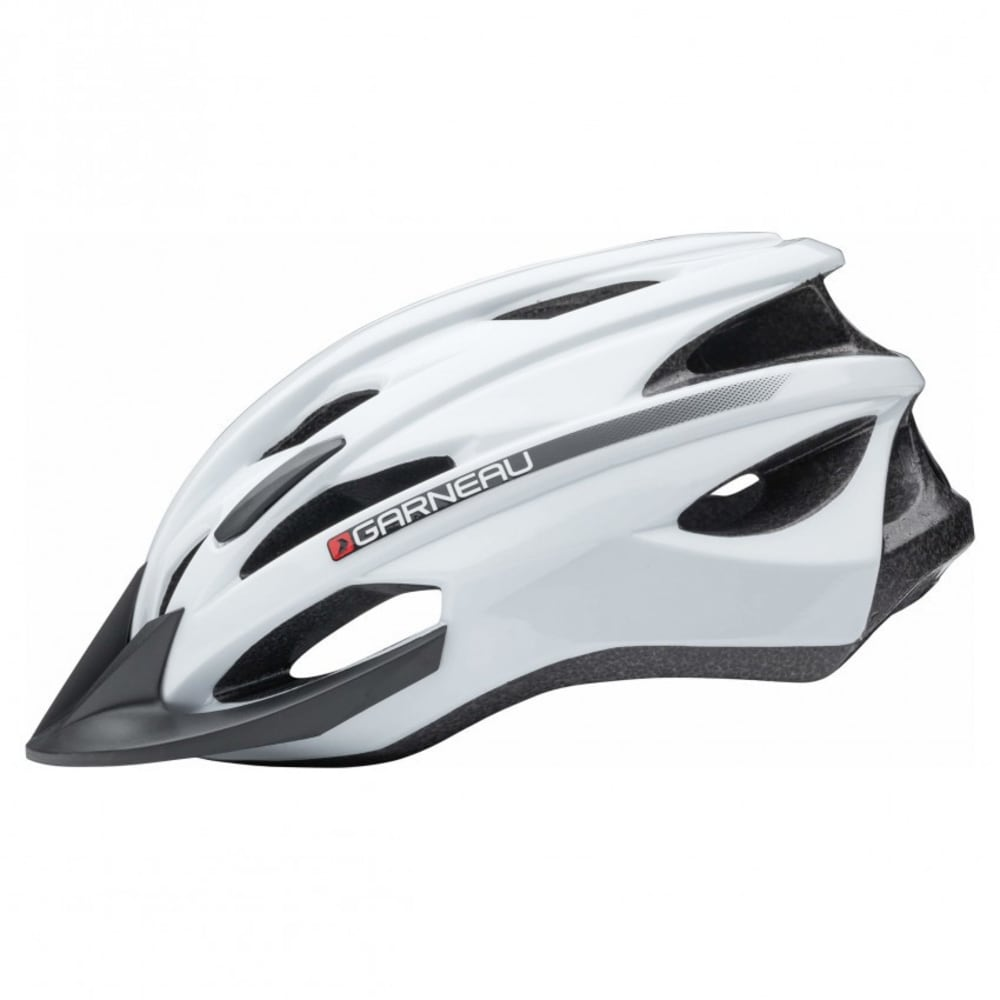 LOUIS GARNEAU Unisex Eagle Cycling Helmet - WHITE