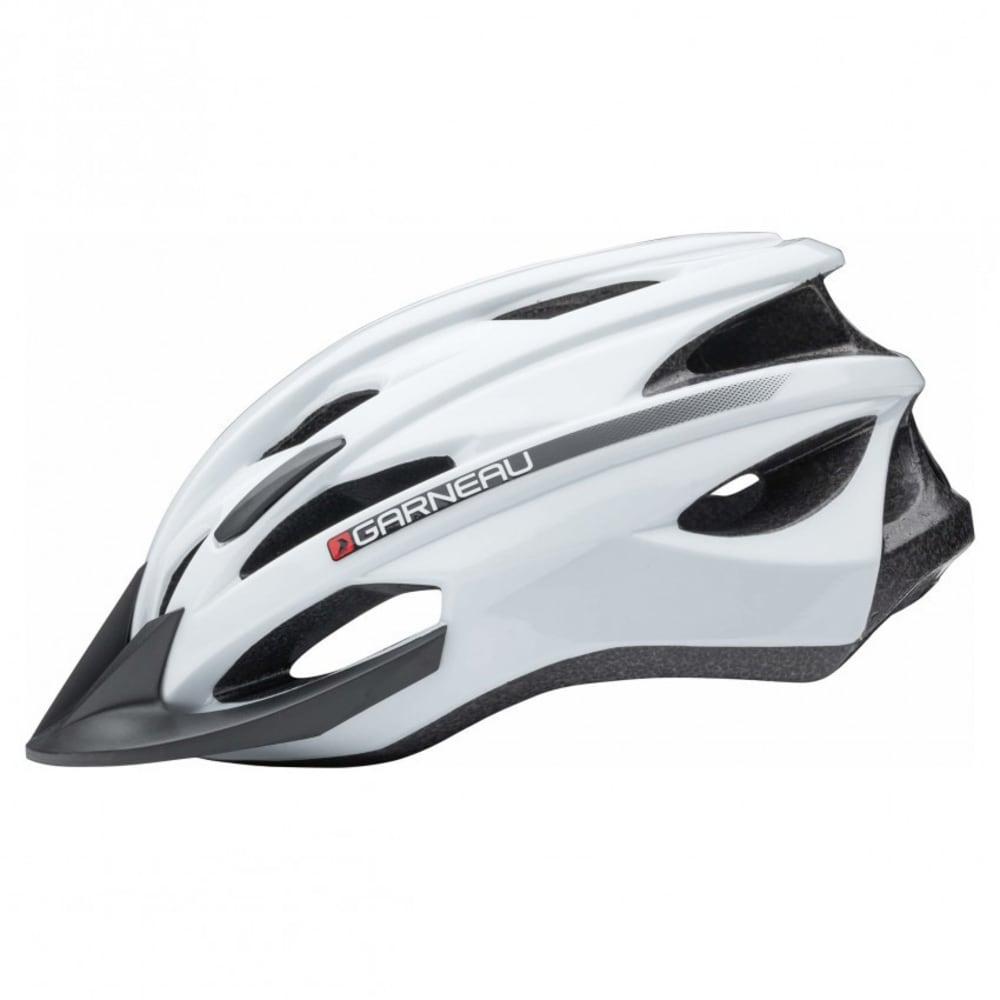 LOUIS GARNEAU Unisex Eagle Cycling Helmet - WHITE