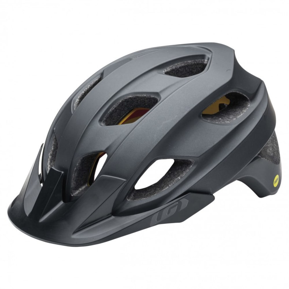 LOUIS GARNEAU Unisex Raid Mips Cycling Helmet - BLACK