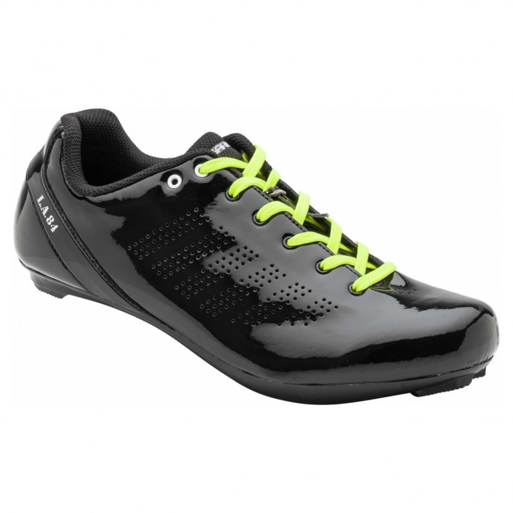 LOUIS GARNEAU Men's L.A. 84 Cycling Shoes - BLACK