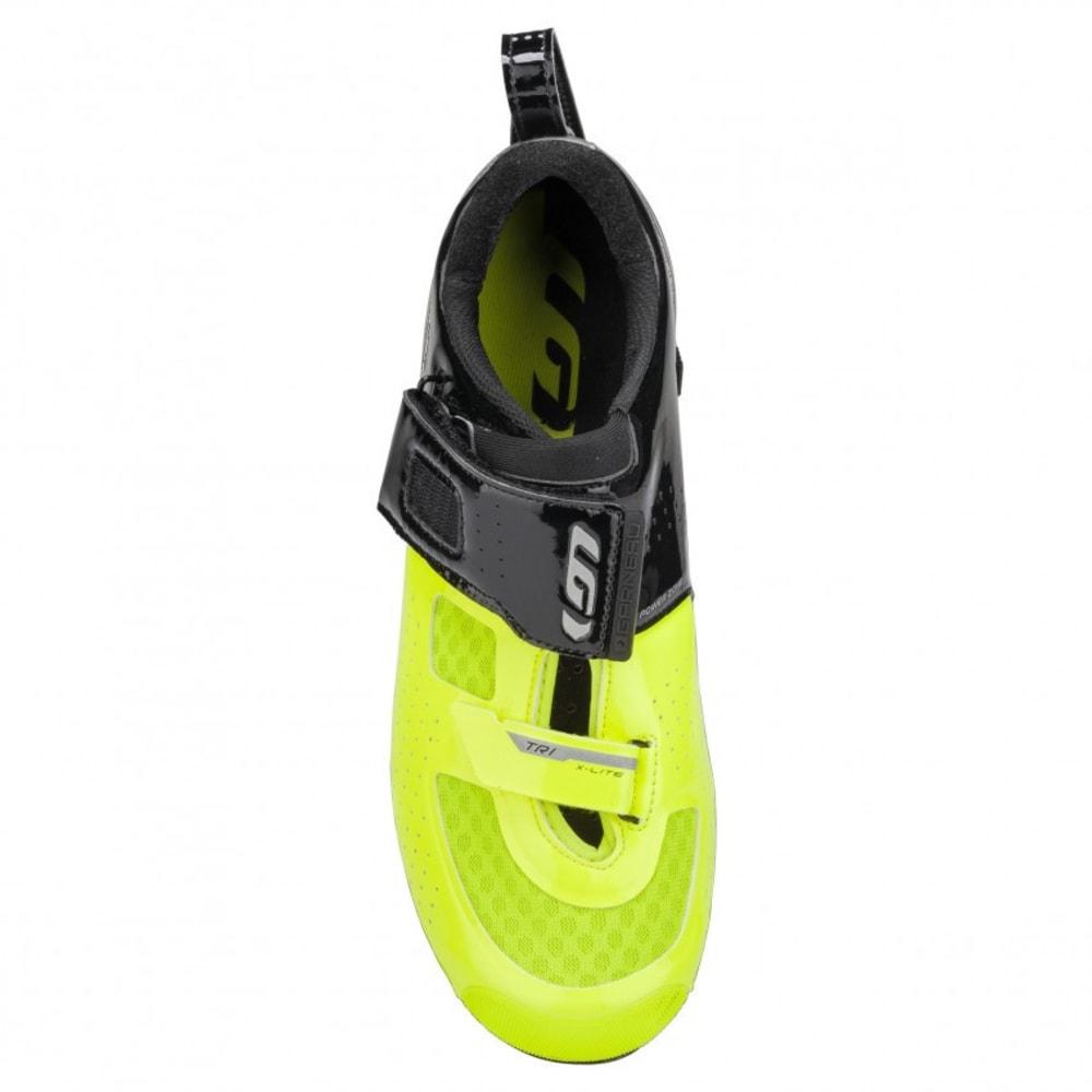LOUIS GARNEAU Men's Tri X-lite II Triathlon Shoes - BLACK/BRIGHT YELLOW