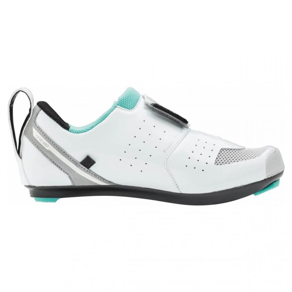 LOUIS GARNEAU Women's Tri X-speed III Triathlon Shoes - WHITE/MOJITO