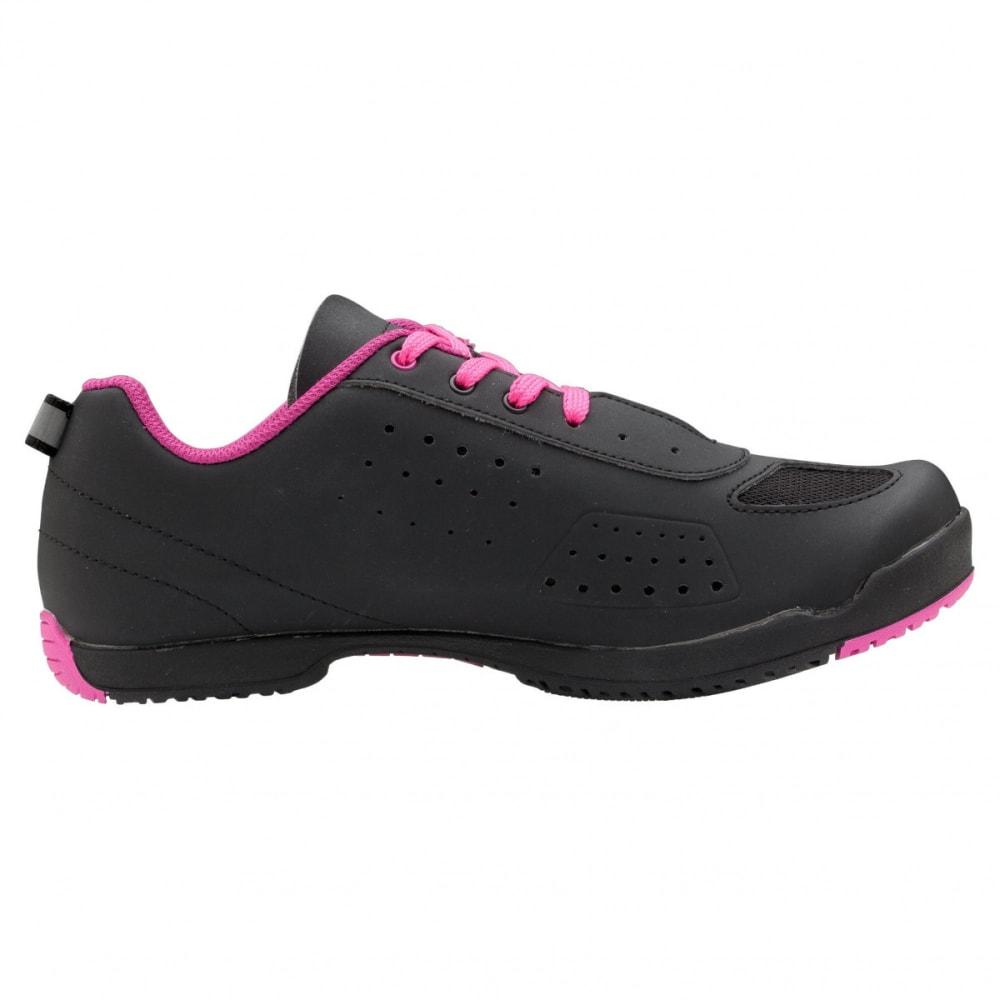 LOUIS GARNEAU Women's Urban Cycling Shoes - BLACK/PINK
