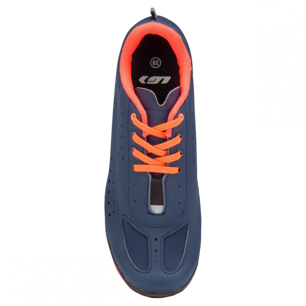 LOUIS GARNEAU Women's Urban Cycling Shoes - DRK NGHT/CORAL MANIA