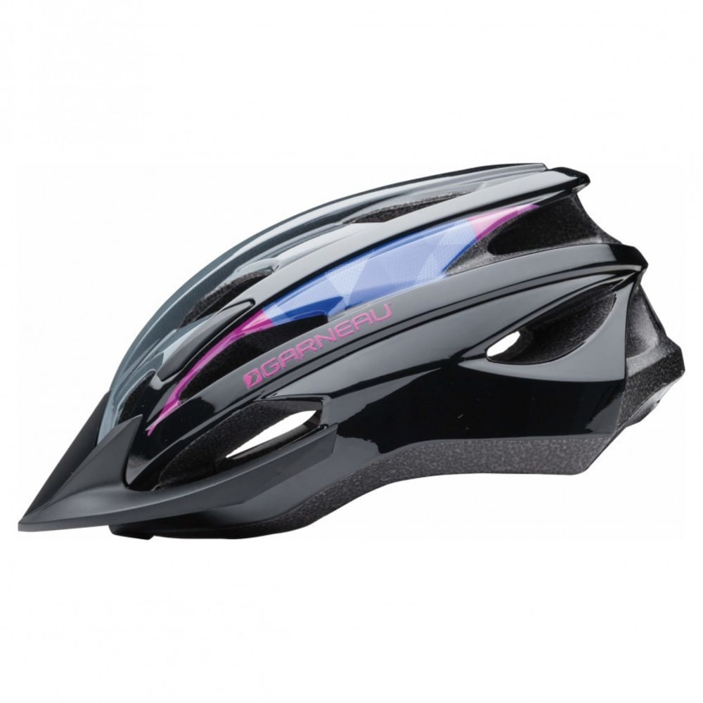 LOUIS GARNEAU Youth Razz Cycling Helmet - BLACK/PURPLE