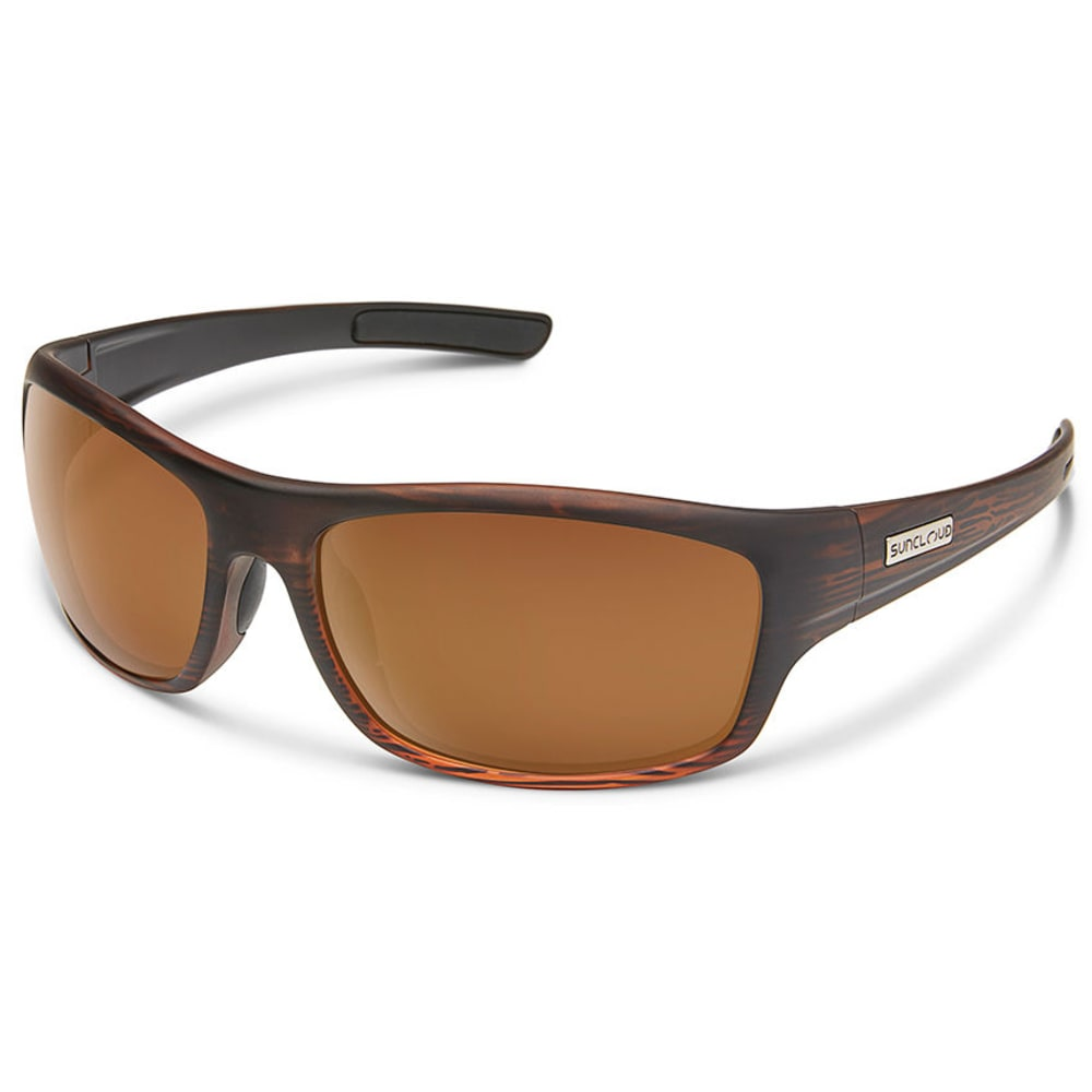 SUNCLOUD Cover Polarized Sunglasses - BURNISHEDBRN/PLRBRN
