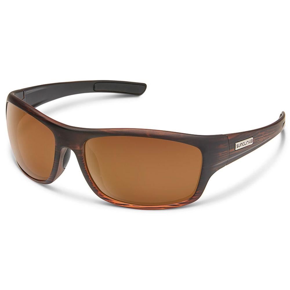 SUNCLOUD Cover Polarized Sunglasses - BURNISHEDBRN/PLRBRN