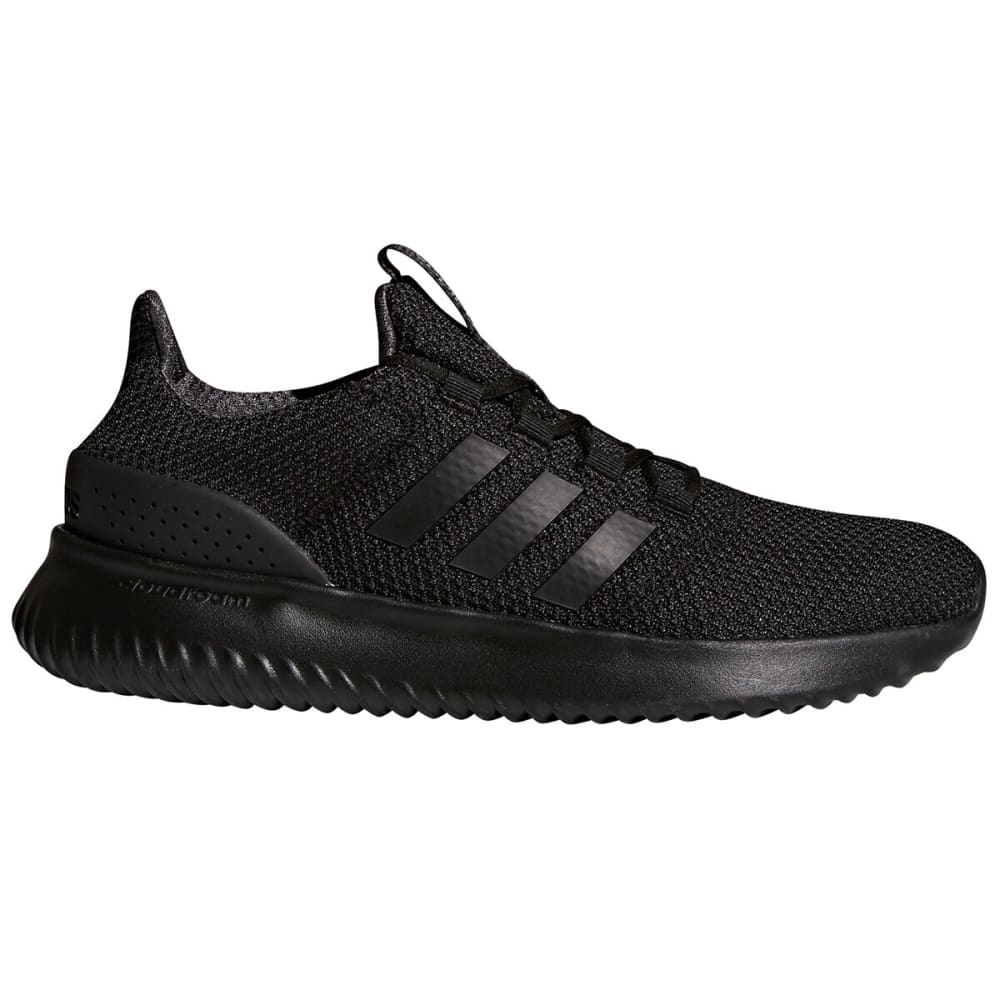 ADIDAS Men's Cloudfoam Ultimate Running Shoes - BLACK-BC0018