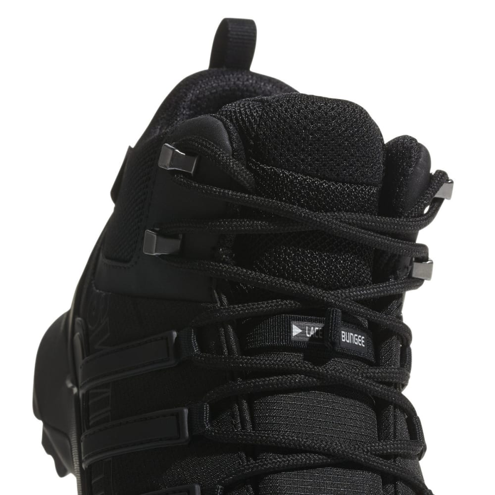 ADIDAS Men's Terrex Swift R2 Mid Gtx Hiking Boots - BLACK/CARBON