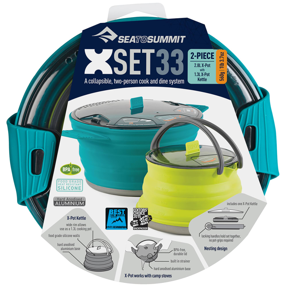 SEA BY SUMMIT X-Set 33 Cookware Set - PACIFIC BLUE