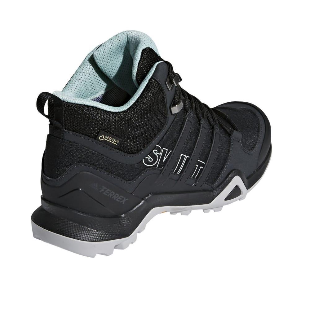 ADIDAS Women's Terrex Swift R2 Mid Gtx W Hiking Boots - BLACK/ASH GREEN