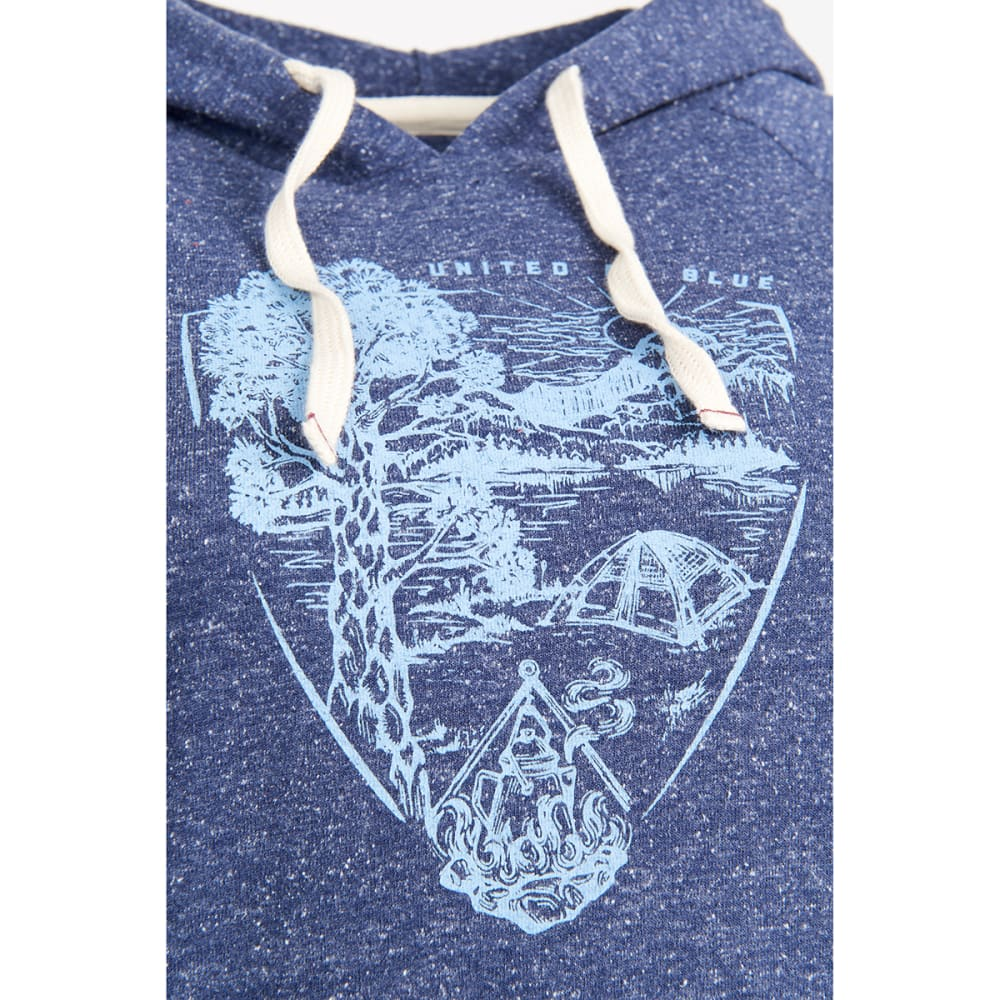 UNITED BY BLUE Women's Parks Pennant Pullover Hoodie - NAVY