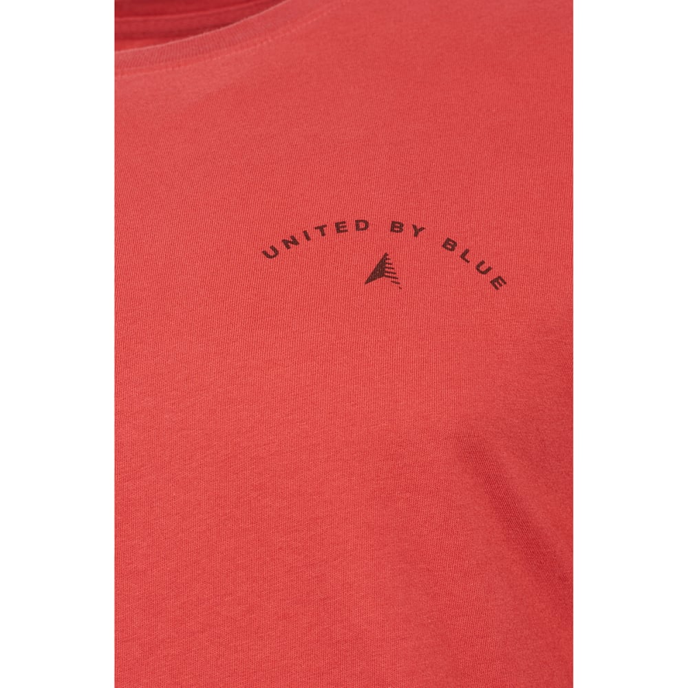 UNITED BY BLUE Men's Adventure Starts Here Long-Sleeve Tee - RED ROCK