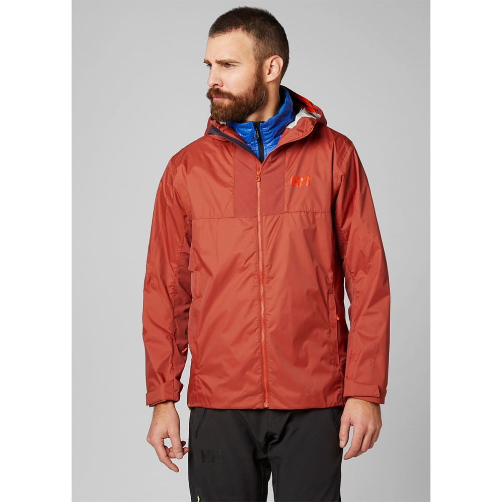 HELLY HANSEN Men's Vanir Logr Jacket - RED BRICK