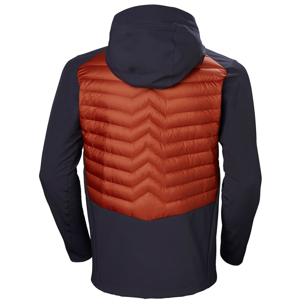 HELLY HANSEN Men's Verglas Light Jacket - RED BRICK