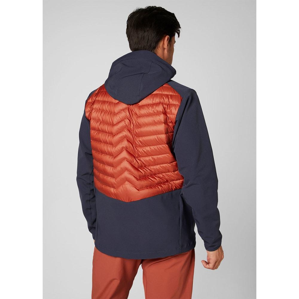HELLY HANSEN Men's Verglas Light Jacket - RED BRICK