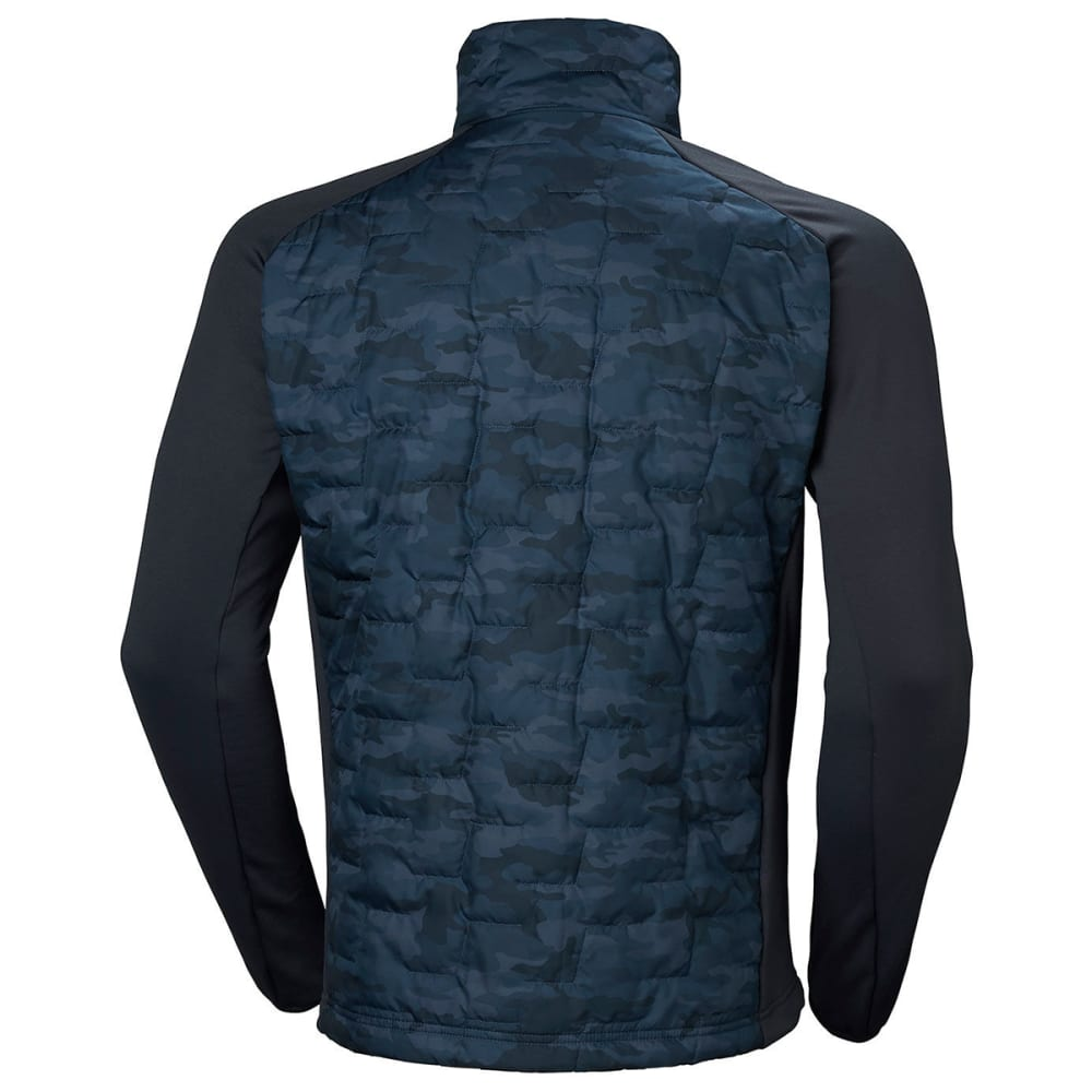 HELLY HANSEN Men's Lifaloft Hybrid Insulator Jacket - GRAPHITE BLUE 995
