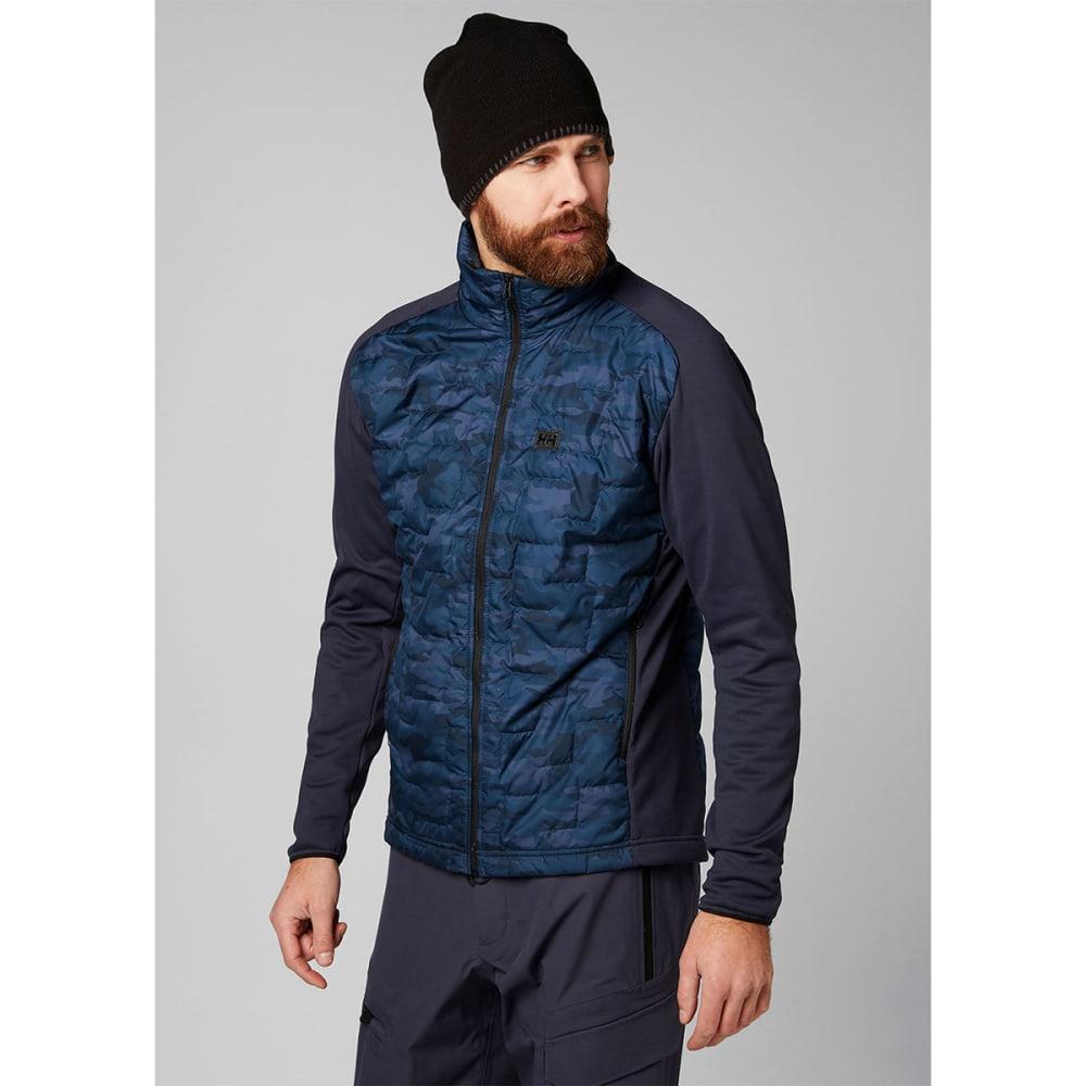 HELLY HANSEN Men's Lifaloft Hybrid Insulator Jacket - GRAPHITE BLUE 995