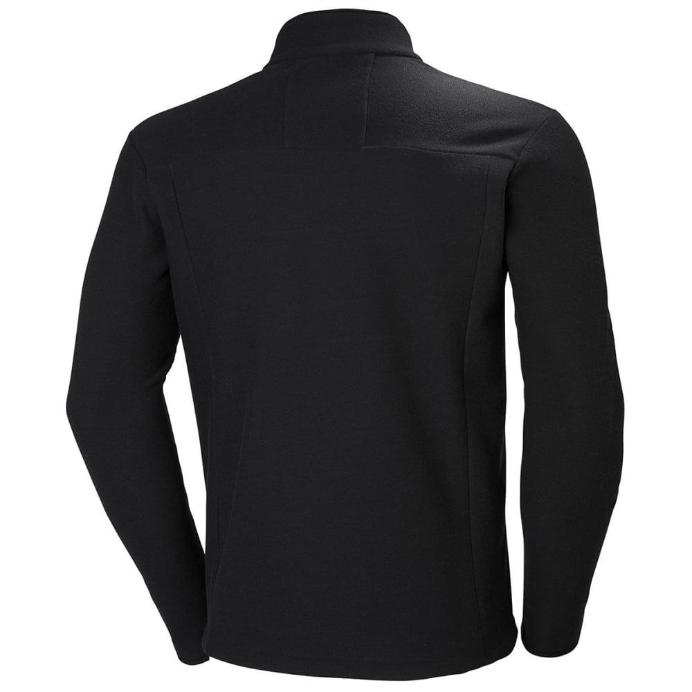 HELLY HANSEN Men's Vanir Half Zip Fleece - BLACK