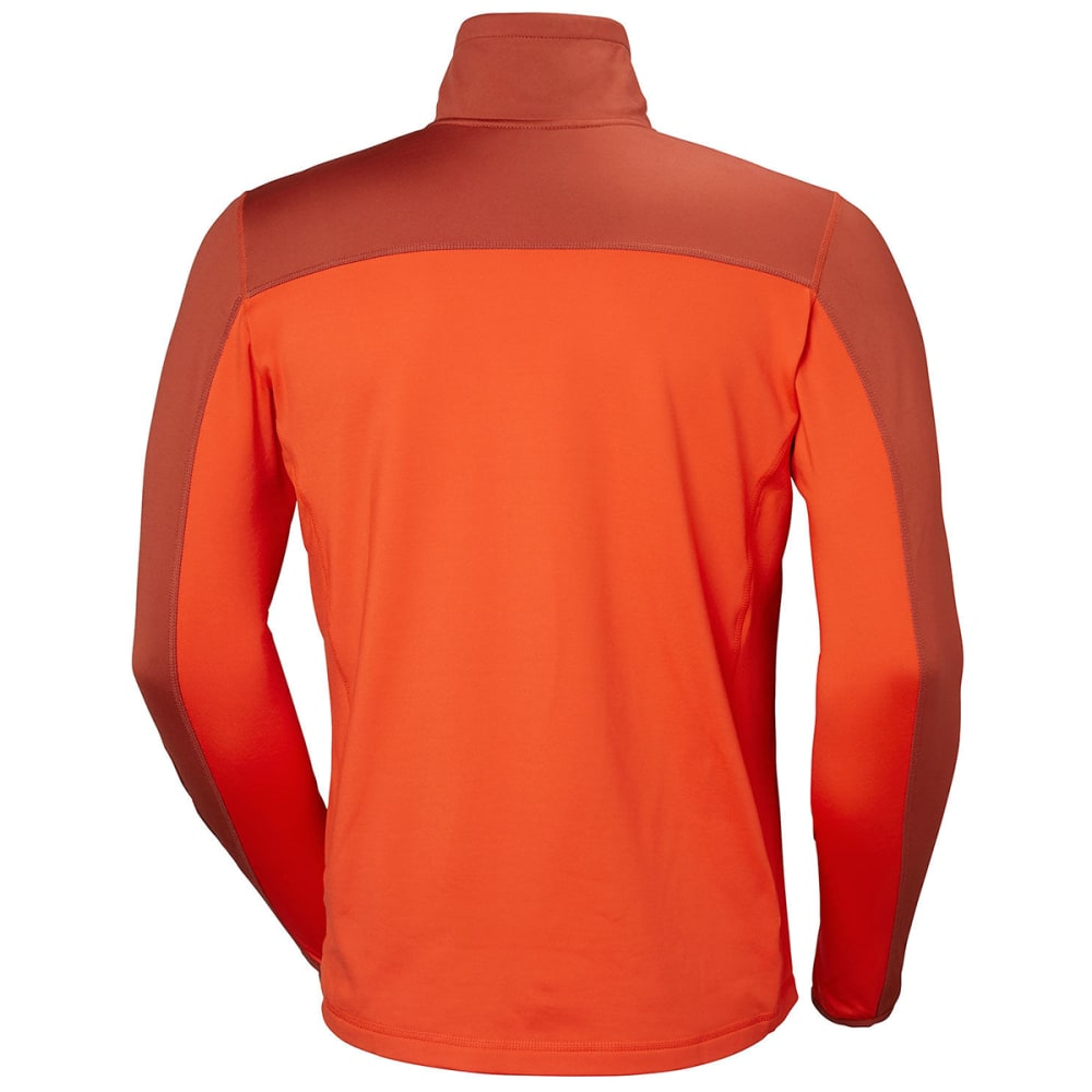 HELLY HANSEN Men's Phantom Half Zip 20 Fleece - GRENADINE
