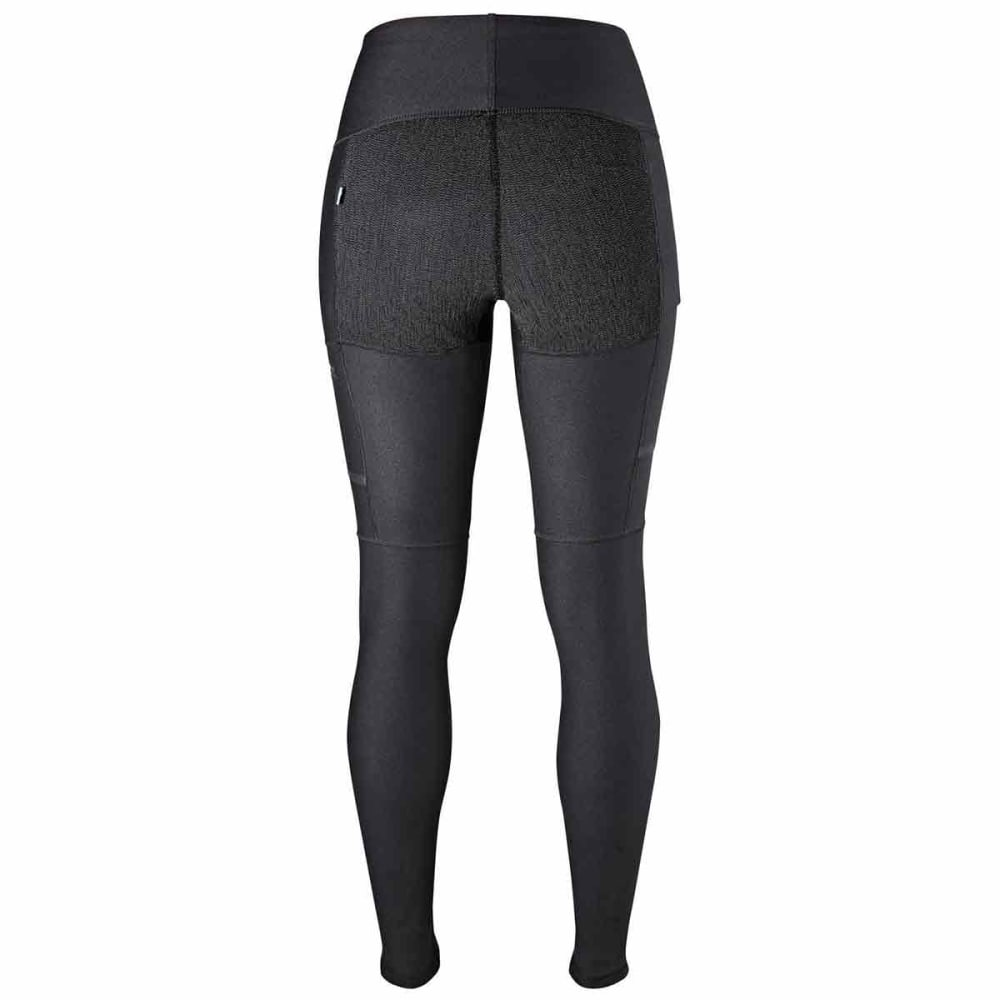 FJALLRAVEN Women's Abisko Trekking Tights - BLACK