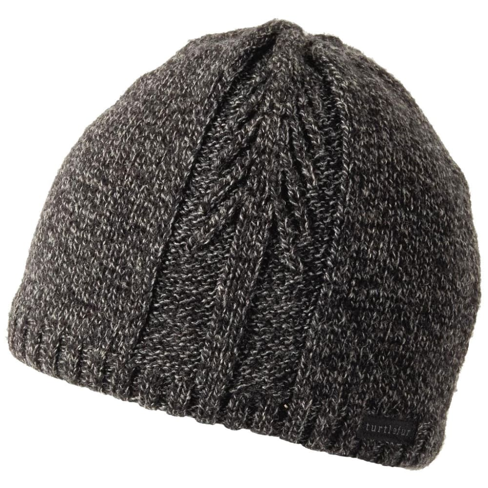 TURTLE FUR Men's Lone Tree Ragg Wool Beanie - CHARCOAL - 429