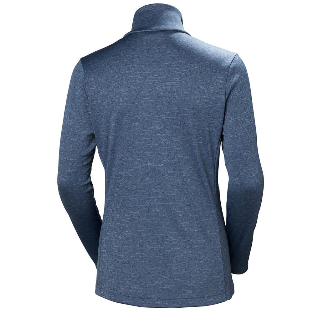 HELLY HANSEN Women's Graphic Fleece Jacket - VINTAGE INDIGO/FROST