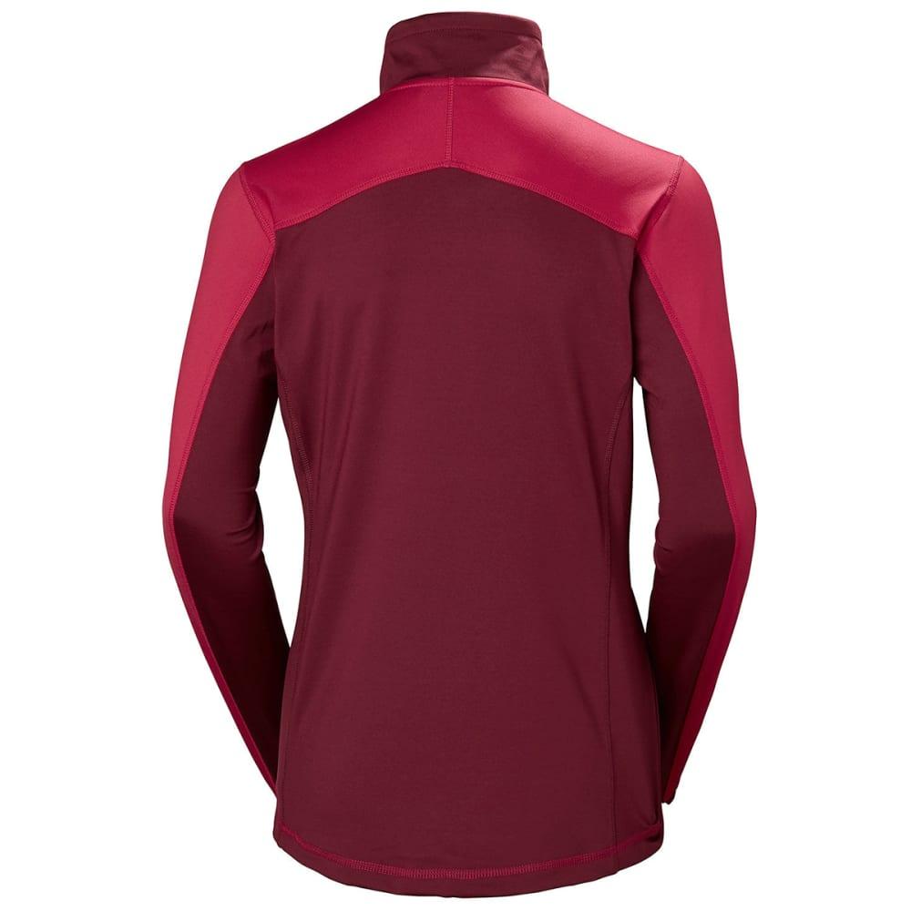 HELLY HANSEN Women's Phantom Half Zip 20 Fleece - PERISIAN RED
