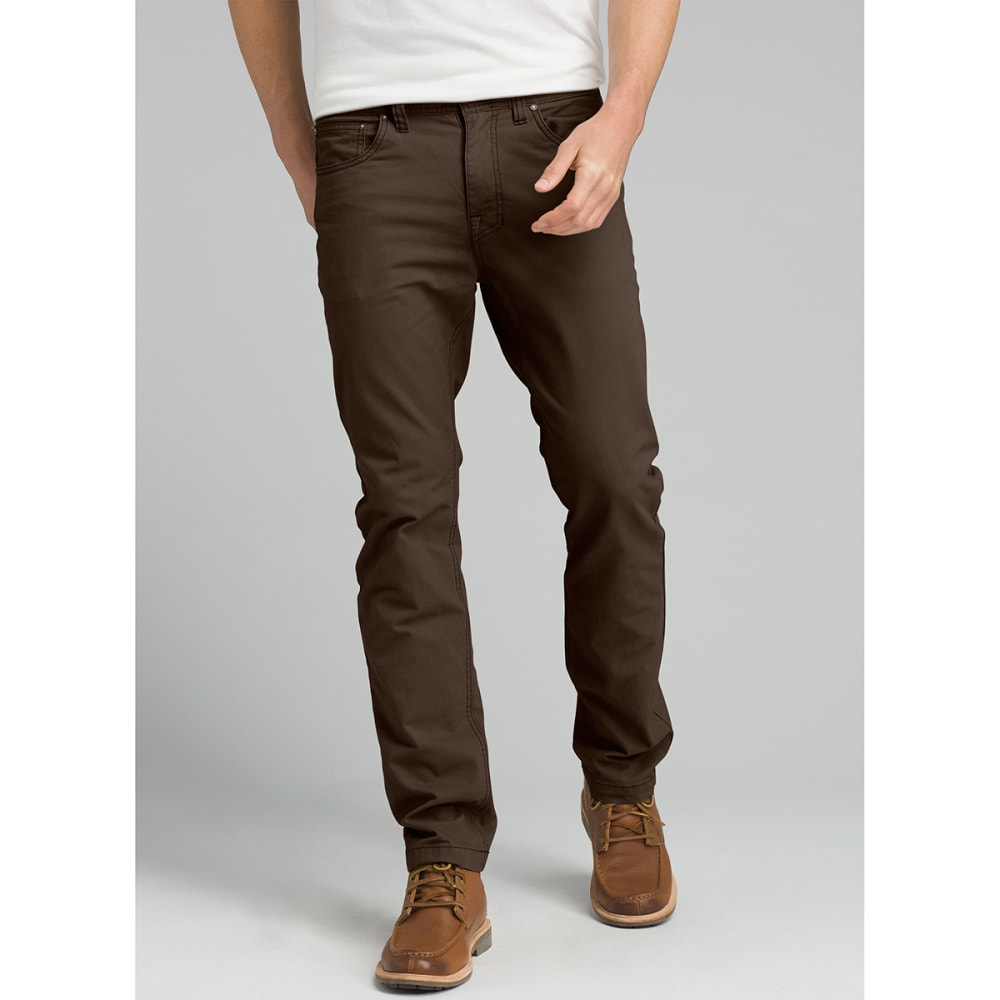 PRANA Men's Brion Pants, 30 in. Inseam - COFFEE BEAN