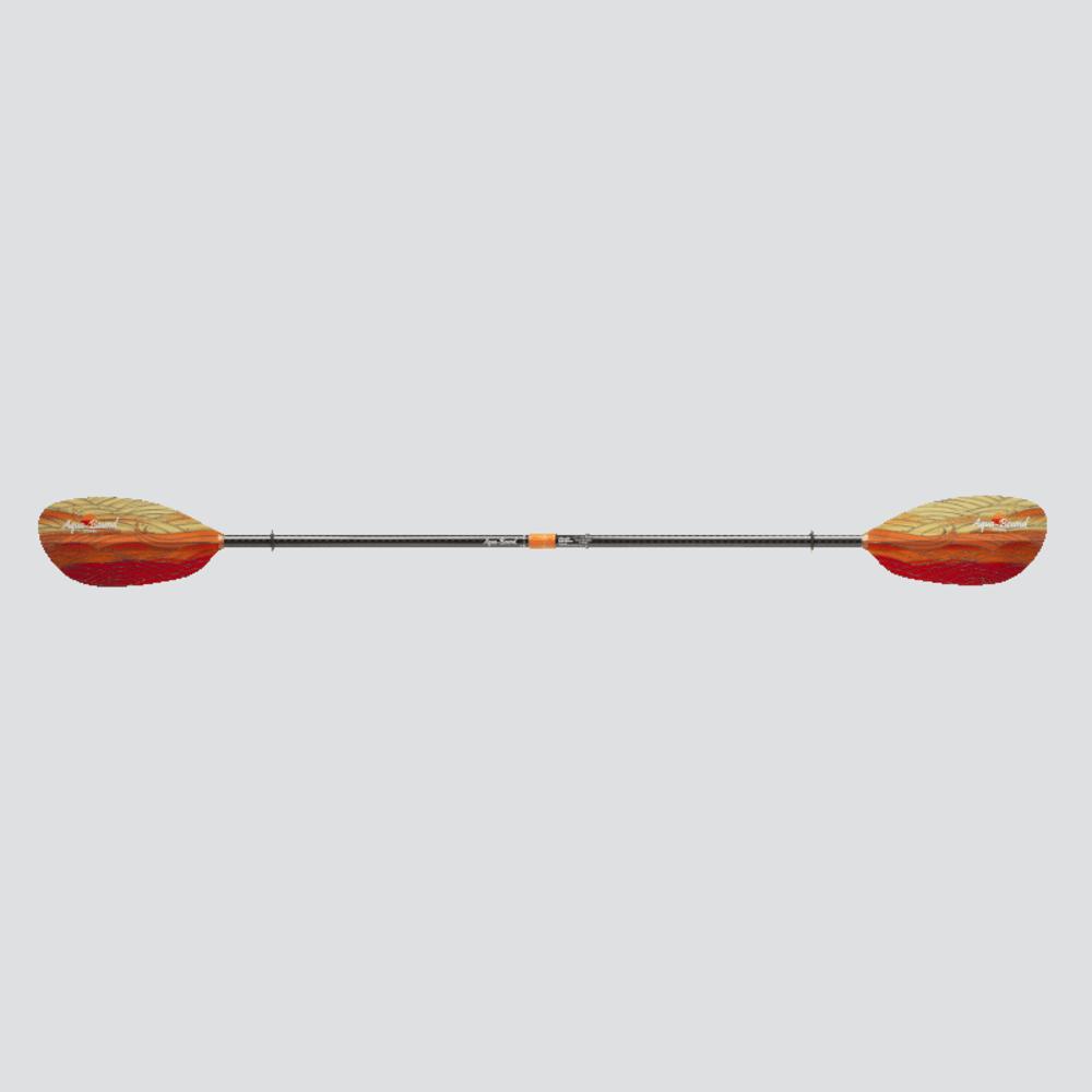 AQUA-BOUND Whiskey Fiberglass Kayak Paddle - FUEGO