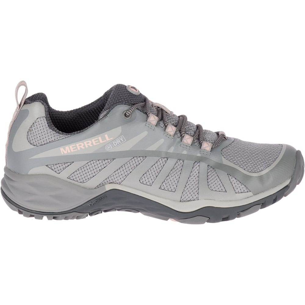 MERRELL Women's Siren Edge Q2 Waterproof Low Hiking Shoes - FROST J46610