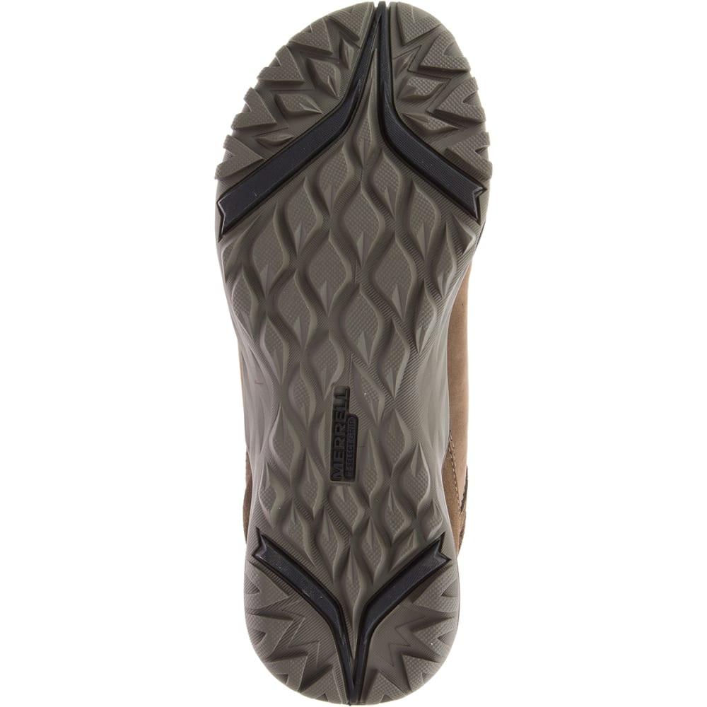 MERRELL Women's Siren Traveller Q2 Mid Waterproof Hiking Boots - SLATE/BLACK