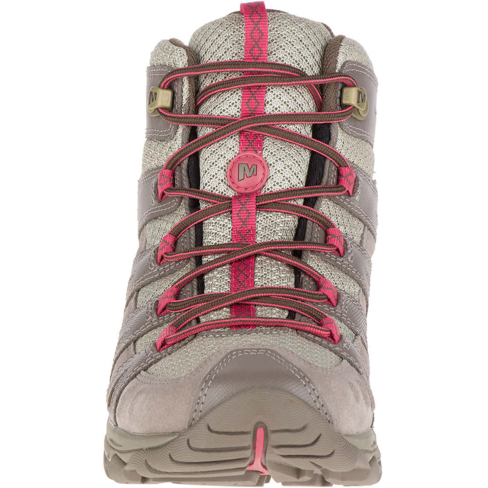 MERRELL Women's Avian Light 2 Ventilator Mid Waterproof Hiking Boots - FALCON