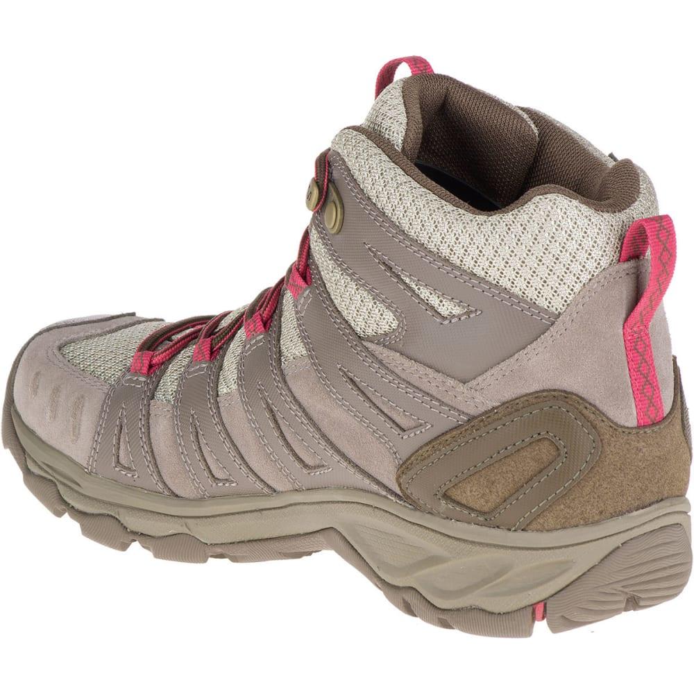 MERRELL Women's Avian Light 2 Ventilator Mid Waterproof Hiking Boots - FALCON