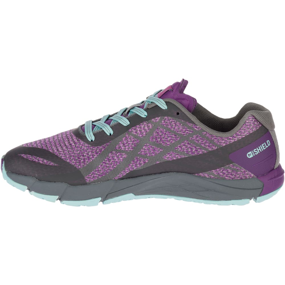 MERRELL Women's Bare Access Flex Shield Trail Running Shoes - HYPER NATURE