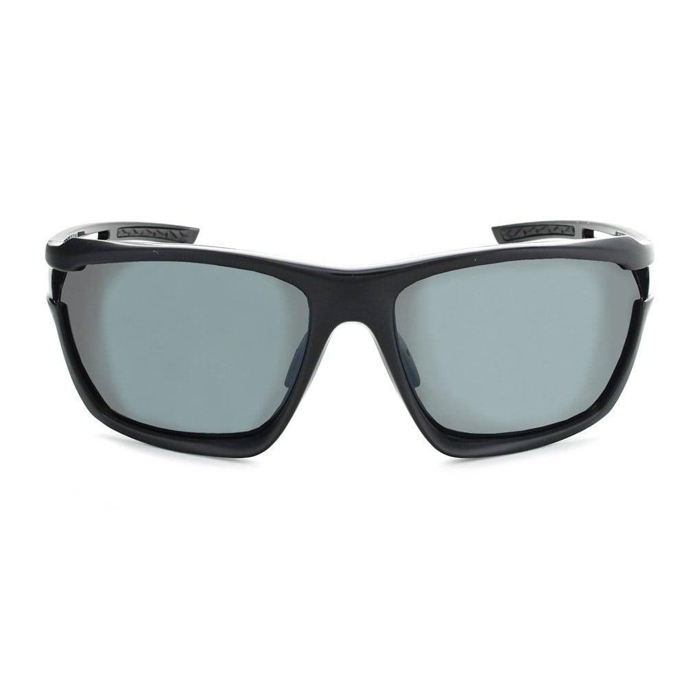 OPTIC NERVE Unisex Variant Polarized Sunglasses, Two-Tone Black - BLACK