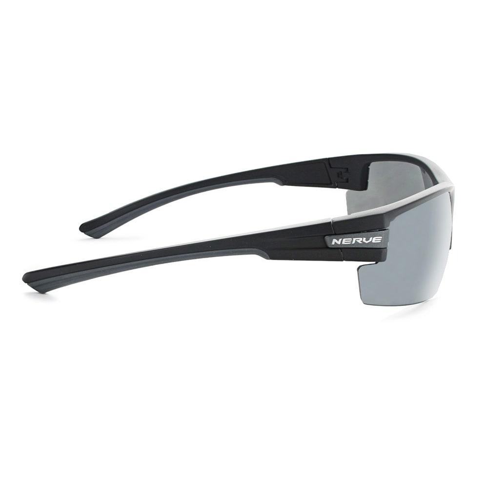 OPTIC NERVE Maxxum Polarized Sunglasses - BLACK