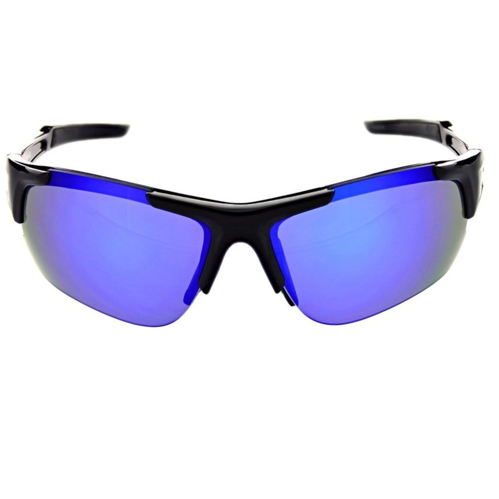 OPTIC NERVE Flashdrive Polarized Sunglasses, Shiny Black - BLACK