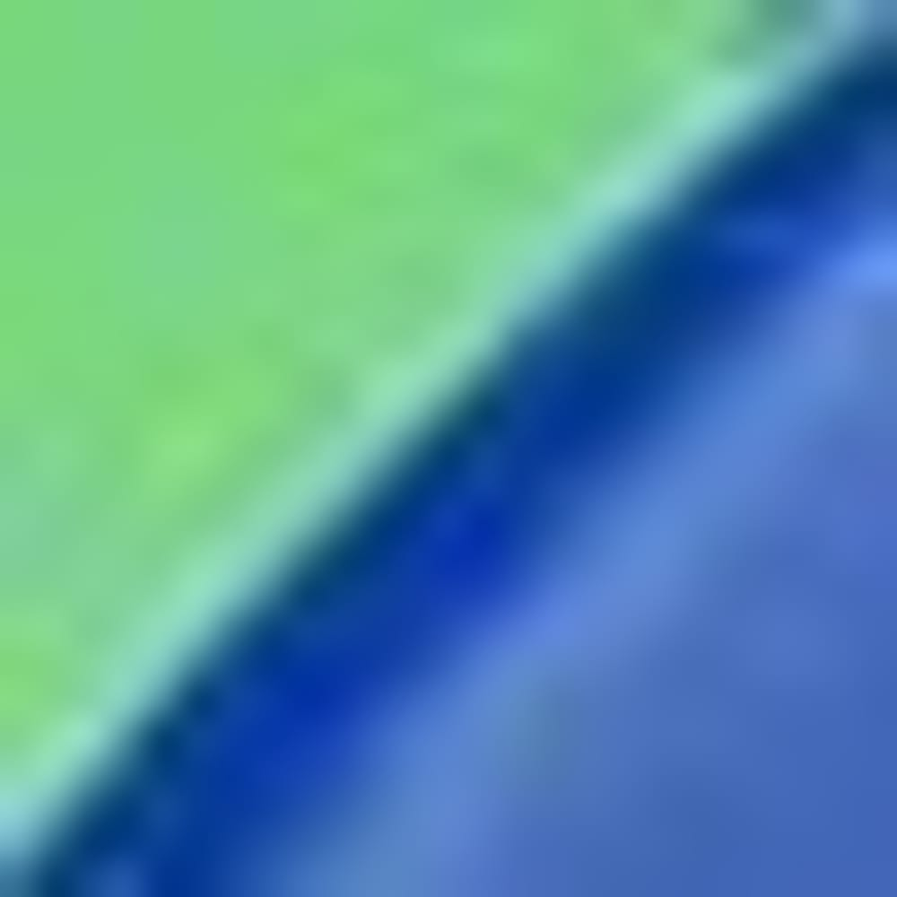 BLUE WITH GREEN
