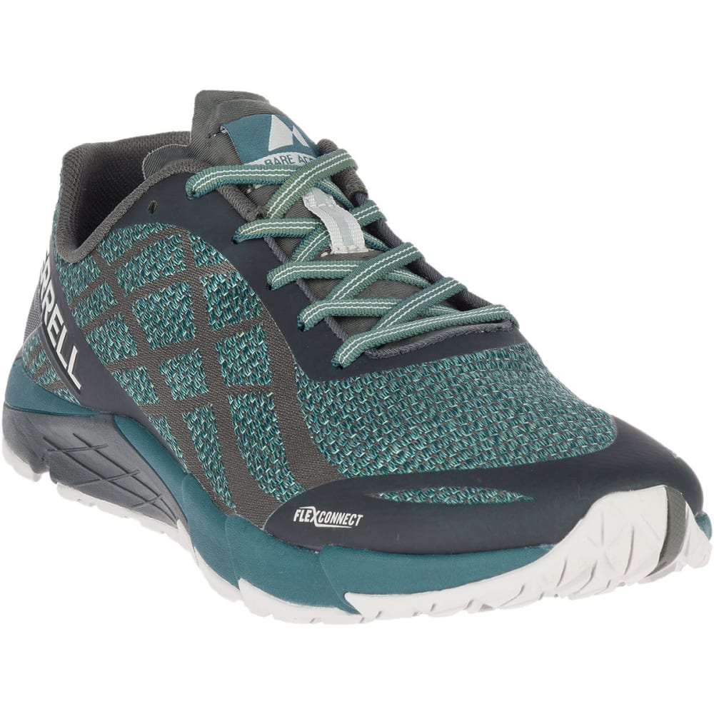detailed pictures on feet images of outlet on sale MERRELL Men's Bare Access Flex Shield Trail Running Shoes ...