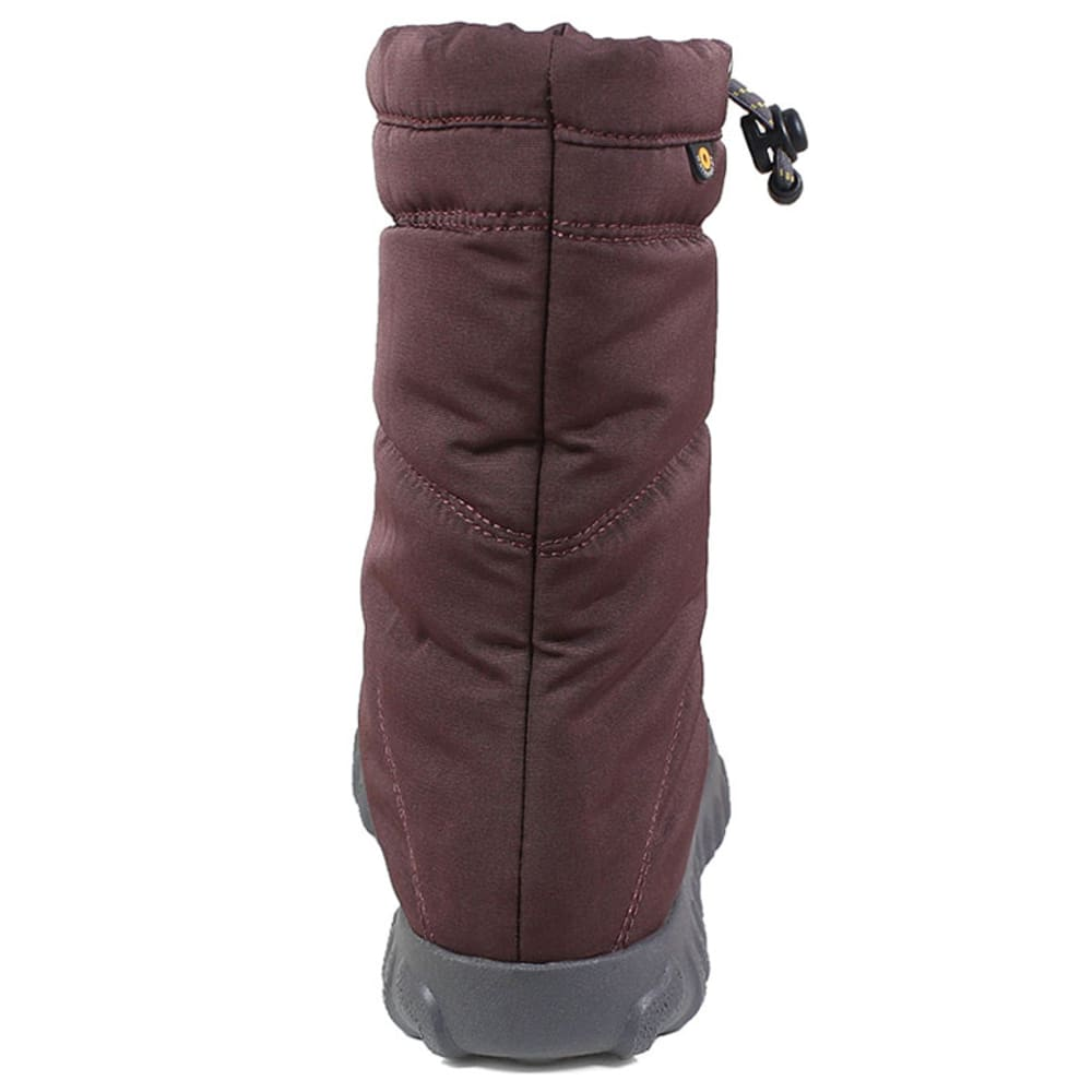 BOGS Women's 9 in. B Puffy Waterproof Insulated Mid Storm Boots - GRAPE-511
