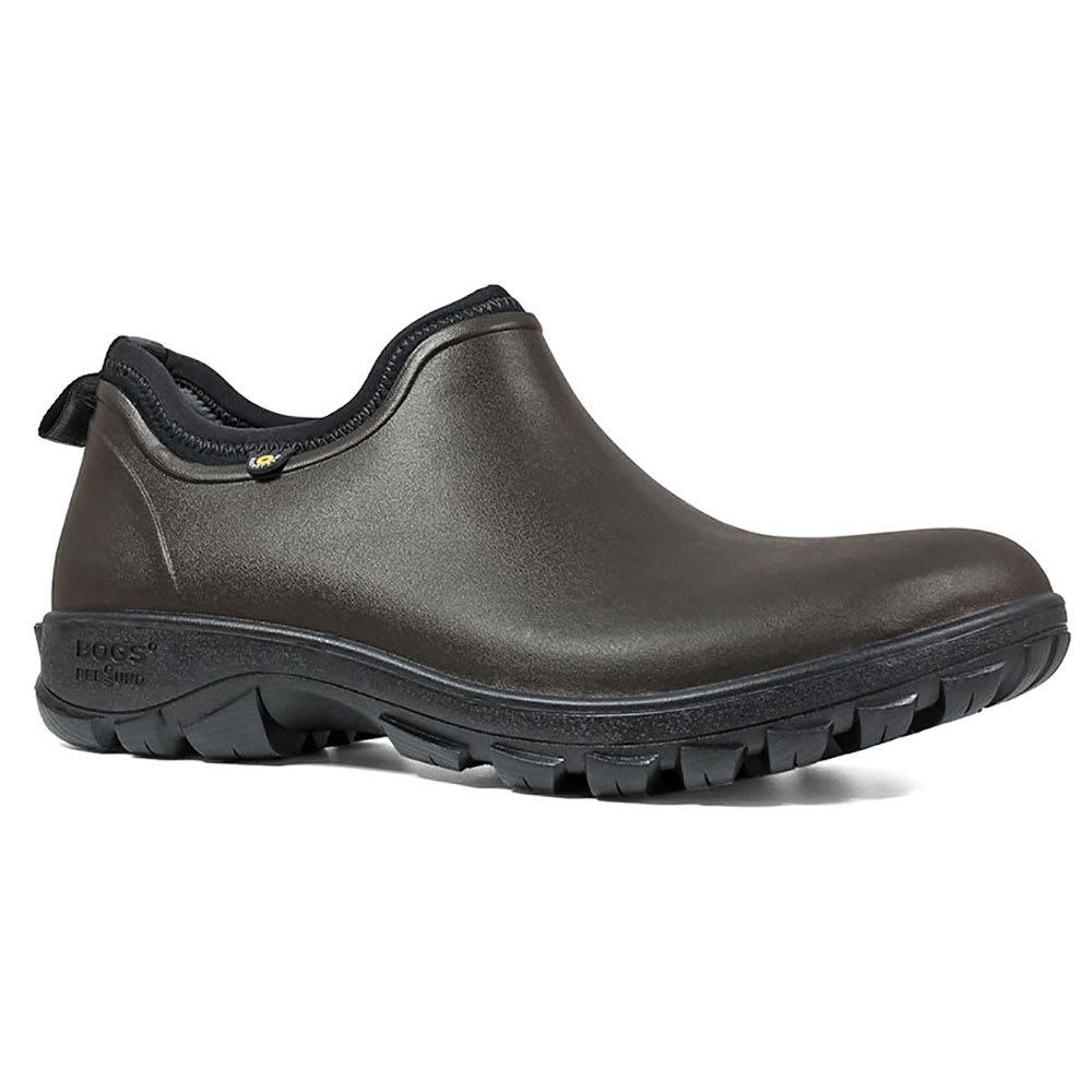 BOGS Men's Sauvie Low Waterproof Insulated Storm Shoes - DARK BROWN-201