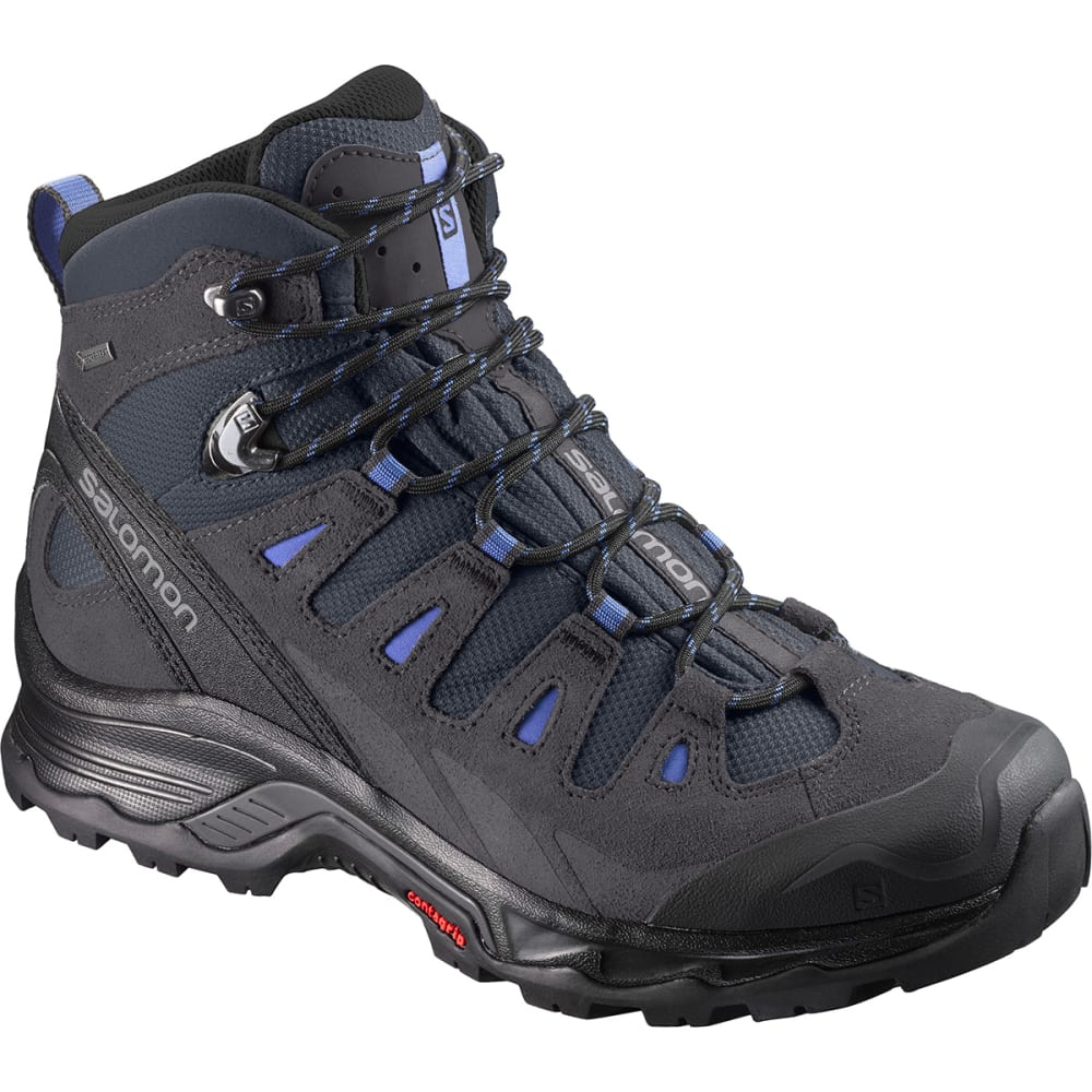SALOMON Women's Quest Prime GTX Waterproof Mid Hiking Boots - IND INK/PHAN/BLU