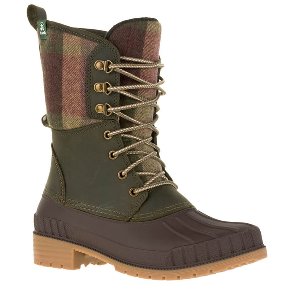 KAMIK Women's Sienna2 Waterproof Insulated Storm Boots - KHAKI