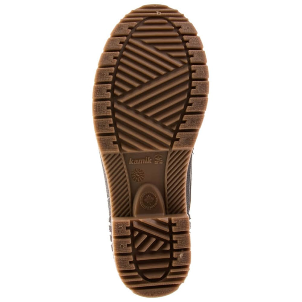 KAMIK Women's SiennaF2 Waterproof Insulated Storm Boots - DARK BROWN