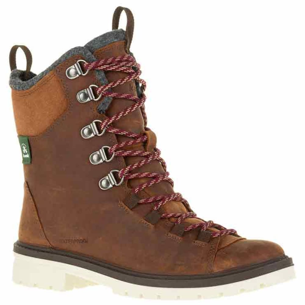 KAMIK Women's RogueHiker Waterproof Insulated Storm Boots - COGNAC