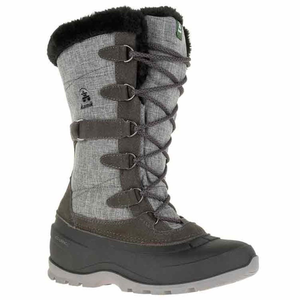 KAMIK Women's Snovalley2 Waterproof Insulated Storm Boots - CHARCOAL