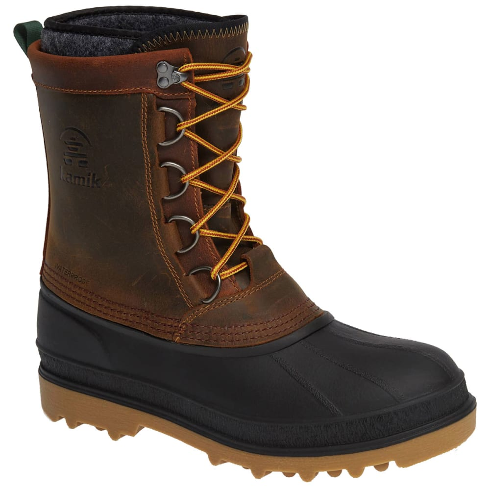 KAMIK Men's William Waterproof Insulated Storm Boots - GAUCHO-GAU