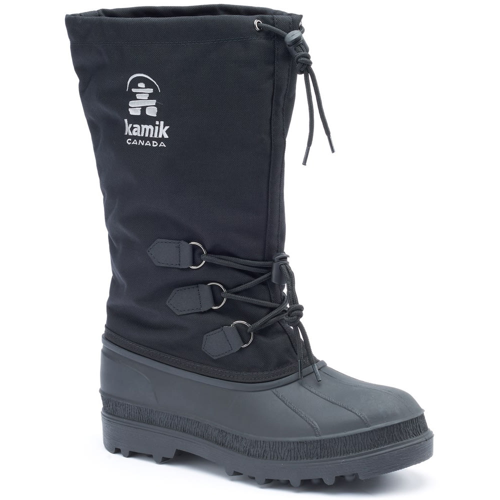 KAMIK Men's Canuck Waterproof Storm Boots - BLACK