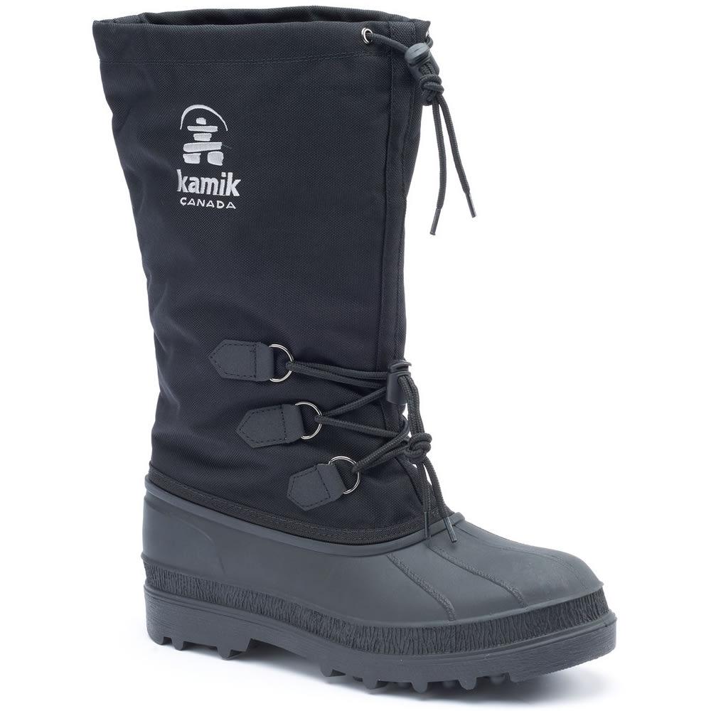 KAMIK Men's Canuck Waterproof Storm Boots - BLACK